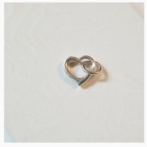 3/$20💜 925 Silver Dangle Heart Charm For Pandora